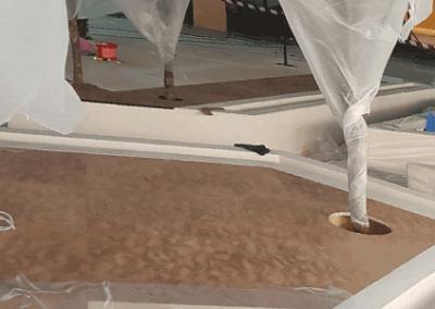 leatherflooring Abu Dhabi cultural foundation