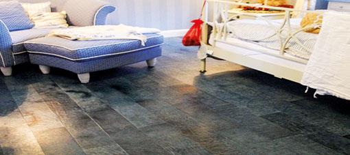VINTAGE leatherflooring blue graphite 2