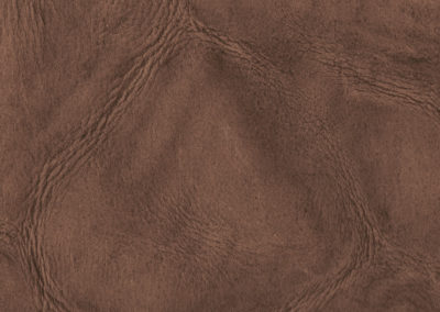 Skinny Dark Sand leather flooring and leather wall-covering