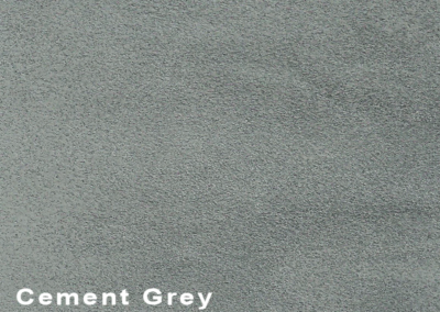 Collection Suede Cement Grey leatherflooring and leather wall-covering