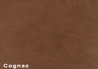 Collection Suede Cognac leatherflooring and leather wall-covering