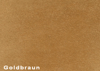 Collection Suede Goldbraun leatherflooring and leather wall-covering