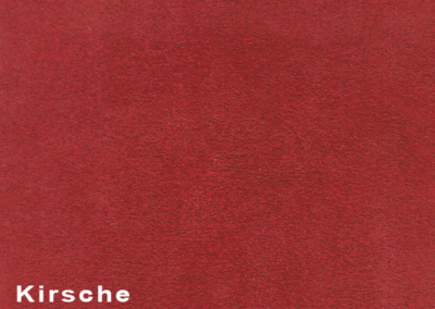 Collection Suede Kirsche leatherflooring and leather wall-covering