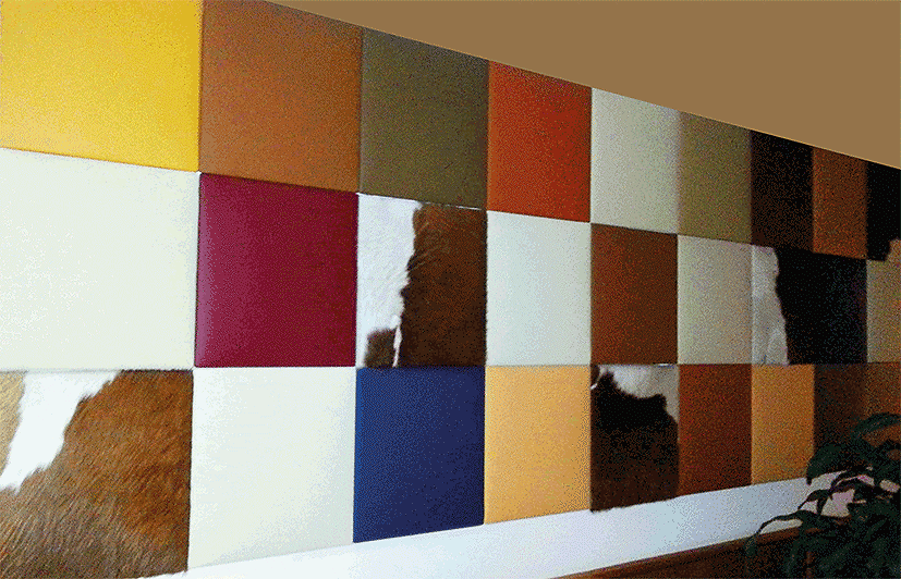Leatherpaneels different colors