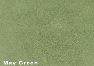 Collection Suede May Green leatherflooring and leather wall-covering