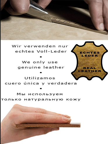 we use genuine leather