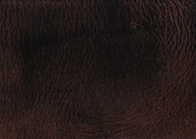 VINTAGE Natural Deep Brown leather flooring and leather wall-covering