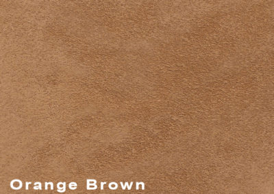 Collection Suede Orange Brown leatherflooring and leather wall-covering