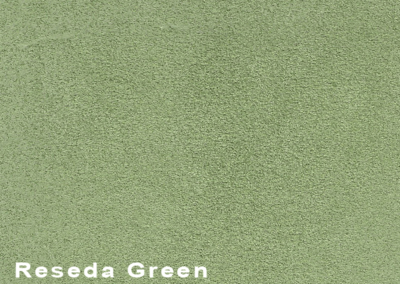 Collection Suede Reseda Green leatherflooring and leather wall-covering