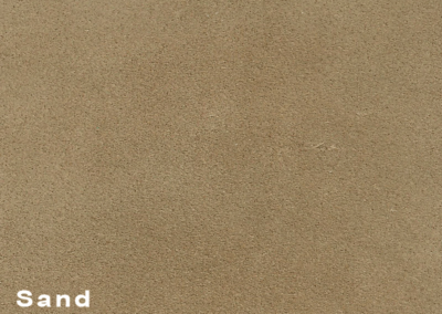 Collection Suede Sand leatherflooring and leather wall-covering
