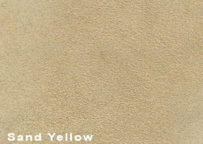 Collection Suede Sand Yellow leatherflooring and leather wall-covering