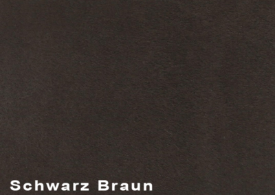 Collection Suede Schwarz Braun leatherflooring and leather wall-covering
