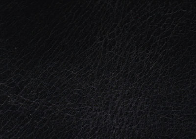 Collection CLASSIC Smooth Black leatherflooring and leather wall-covering