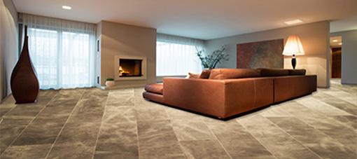 Leatherflooring livingroom, perfect style