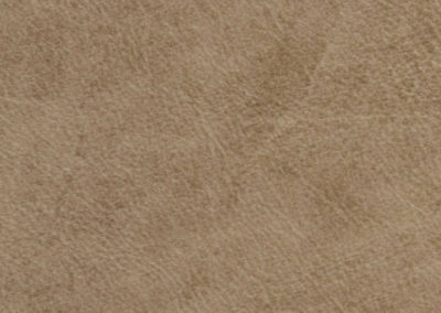 Beige leatherflooring and leather wall-covering