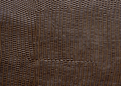 Cobra Brown leatherflooring and leather wall-covering